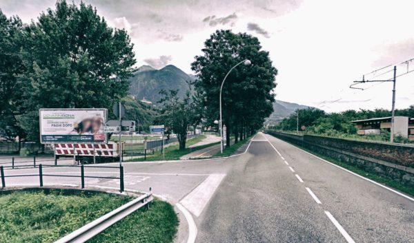 Sondrio, via Fojanini: 2 postazioni